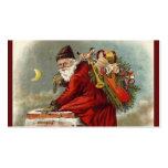 Vater-Weihnachtskamin-Dachspitze Visitenkarten