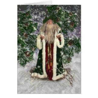 Vater-Weihnachtskarte