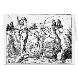 Vater-William-Karte 1, Alice im Wunderland Karte