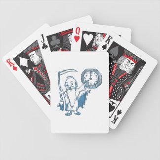 Vater-Zeit mit Sense und Uhr Bicycle Spielkarten