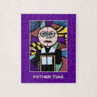 Vater-Zeit - Zeit bessert helle Farben aus Puzzle