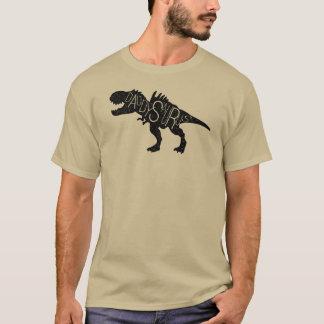 Vatertag - Daddysaurus Dinosaurier T-Shirt