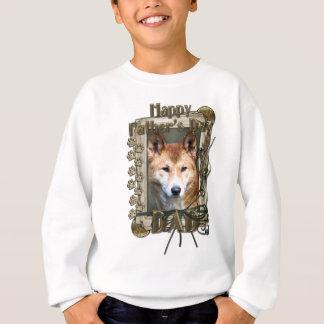 Vatertag - Steintatzen - Dingo Sweatshirt