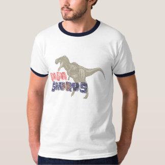 Vatertags-Geschenkidee Papa saurus rex Shirt- T-Shirt