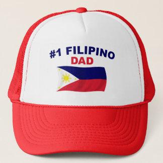 Vati des Filipino-#1 Truckerkappe
