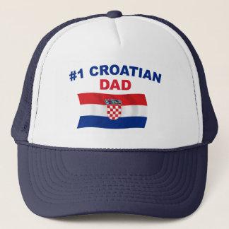 Vati des Kroate#1 Truckerkappe
