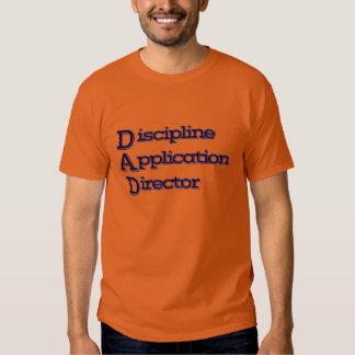 VATI: Disziplin-Anwendungs-Direktor T-shirt