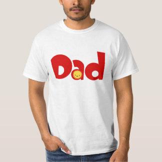 Vati-Familien-Paar-T - Shirt Sun niedlicher