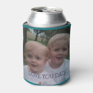 Vati-Fotogeschenkbier der coolere Vatertag Dosenkühler
