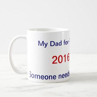 Vati für Präsidenten 2016 Kaffeetasse