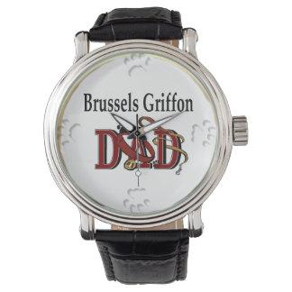 Vati-Geschenke Brüssels Griffon Uhr