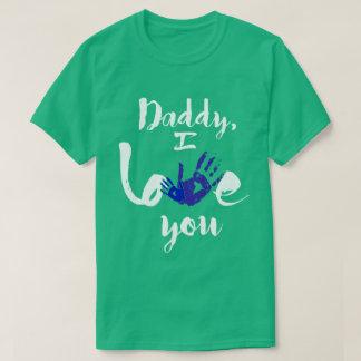 Vati, i-Liebe Sie Geschenk-Ideen T-Shirt