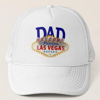 VATI Las Vegas-Blau auf weißer Kappe