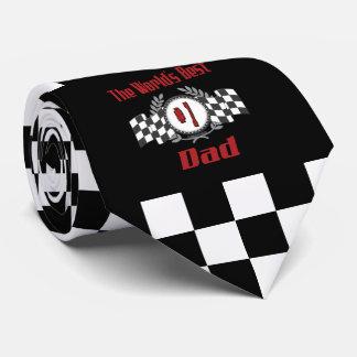 Vati-laufendes Thema der Welt bester der Zahl-eine Krawatte