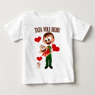Vati-Liebe-Baby - Baby-T - Shirt