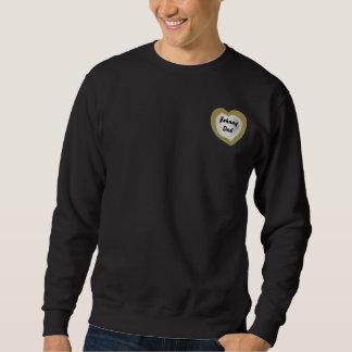 Vati-Liebe Sie-Fertigen besonders an Sweatshirt