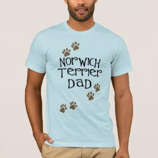 Vati Norwichs Terrier für Hundevatis Norwichs T-Shirt