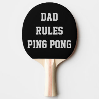 Vati-RegelnPing Pong personalisiertes Doppeltes Tischtennis Schläger