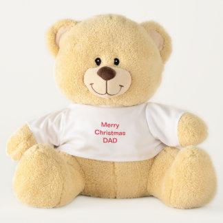 Vati-Weihnachten Teddybear