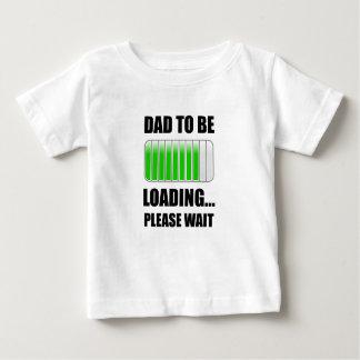 Vati zum zu laden baby t-shirt