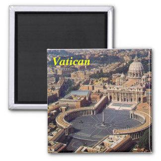 Vatikan-Magnet Quadratischer Magnet