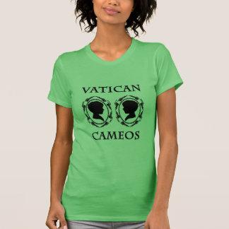 Vatikan-Miniaturen - Schwarzes T-Shirt