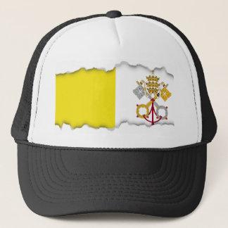 Vatikanstadtflagge Truckerkappe
