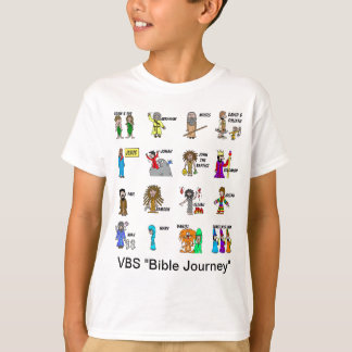 VBS Bibel-Reise-Shirt für Kinder T-Shirt