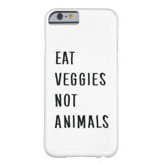 Vegan Barely There iPhone 6 Hülle