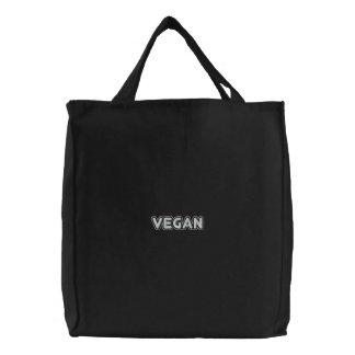 Vegan Bestickte Tragetasche