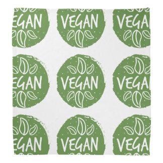 Vegan - dunkelgrün halstuch