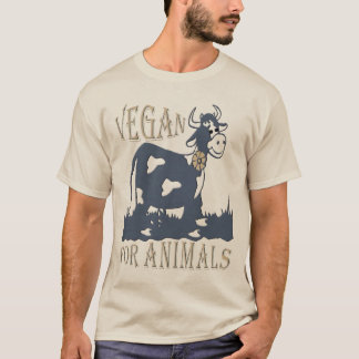 VEGAN FOR ANIMALS - 01m T-Shirt