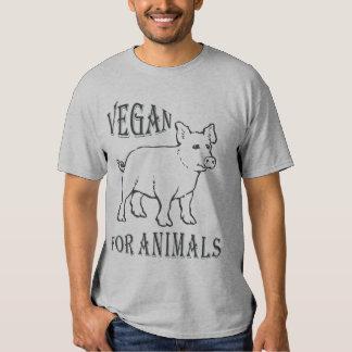 VEGAN FOR ANIMALS - 02m Hemden