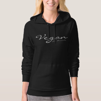 VEGAN for Animals - 04w Hoodie