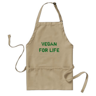 VEGAN FOR LIFE SCHÜRZE