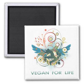 Vegan für das Leben Kühlschrankmagnet