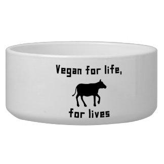 Vegan für das Leben Napf