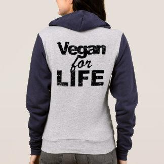 Vegan für das LEBEN (Schwarzes) Hoodie