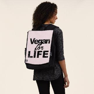 Vegan für das LEBEN (Schwarzes) Rucksack