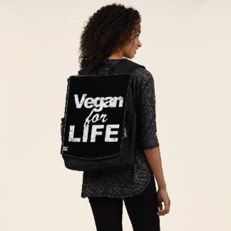 Vegan für das LEBEN (weiß) Rucksack
