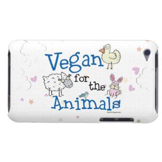 Vegan für die Tiere iPod Case-Mate Hülle