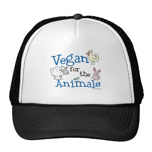 Vegan für die Tiere Retrokultmützen