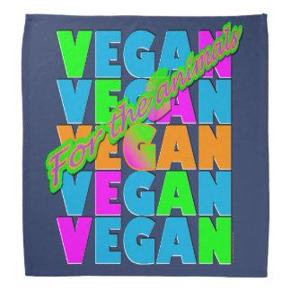 Vegan für die Tiere - Kissen Halstuch