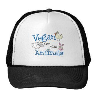Vegan für die Tiere Netzcap