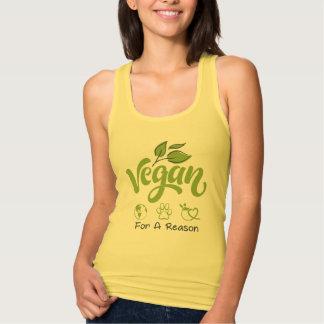 Vegan für eine Grund-Behälter-Spitze Tank Top