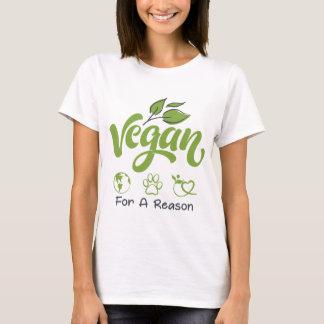 Vegan für einen Grund-kurze Hülsen-grundlegenden T T-Shirt