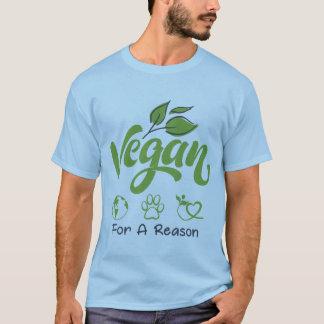 Vegan für einen kurzen die Hülsen-T - Shirt der