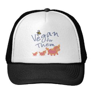 Vegan für Tiere Trucker Kappe