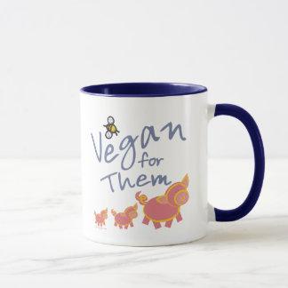 Vegan für Tiere Tasse