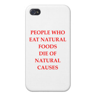 vegan iPhone 4/4S case